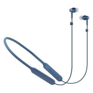 ワンランク上の音質と使い勝手で音楽に夢中になれるネックバンドモデル。  audio-technica...