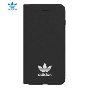 adidas OR-TPU booklet case-iPhone 8 Plus-Black / White|softbank-selection