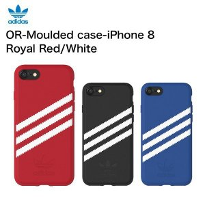 adidas OR-Moulded case-iPhone 8-Royal Red / White|softbank-selection
