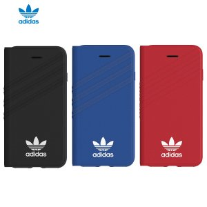 adidas OR-Booklet case-iPhone 8-Collegiate Royal / White|softbank-selection