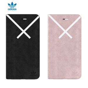 adidas OR-XBYO-Booklet case-iPhone 8 Plus-Black|softbank-selection