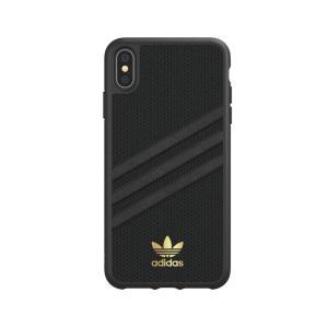 アディダス adidas iPhone XS Max ケース OR Moulded case PU WOMEN black|softbank-selection