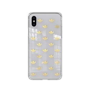 アディダス adidas iPhone X iPhone XS ケース OR Snap case ENTRY gold colored|softbank-selection