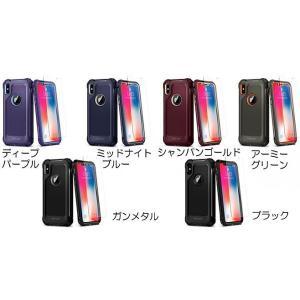 Spigen iPhone X Pro Guard ガンメタル|softbank-selection