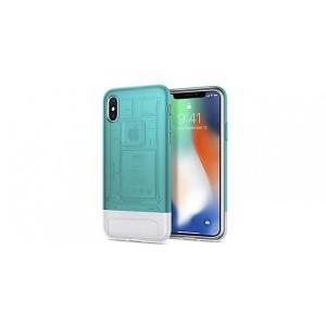 Spigen iPhone X Classic C1 ボンダイブルー|softbank-selection
