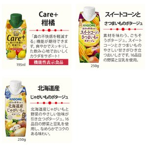カゴメ 選べるスムージー 330ml 紙パック (12本入を2種選べる)24本セット〔グリーン ミックス 豆乳 バナナ ベリー〕 softdrink 04
