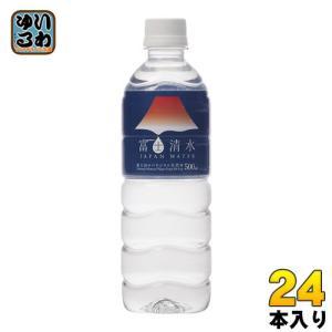 ミツウロコ 富士清水 JAPAN WATER 500ml ペットボトル 24本入 いわゆるソフトドリンクのお店