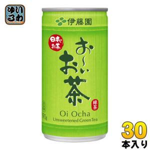 伊藤園 お〜いお茶 緑茶 190g缶 30本入