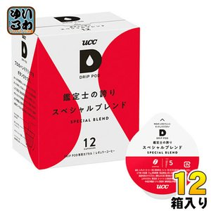 UCC DRIP POD(ドリップポッド) 鑑定士の誇りスペシャルブレンド 12杯×12箱 (6箱入...