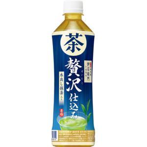サントリー 伊右衛門 贅沢冷茶 500ml ペットボトル 24本入〔お茶 緑茶〕 softdrink 02