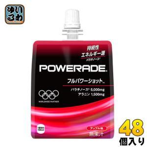 コカ・コーラ パワーエイドゼリー フルパワーショット 180g パウチ 48個 (24個入×2 まと...