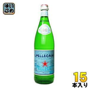 サンペレグリノ 750ml瓶 15本入〔炭酸水 スパークリン...