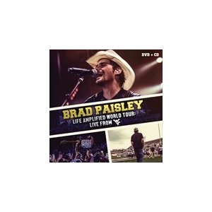 LIFE AMPLIFIED WORLD TOUR : LIVE FROM WVU / BRAD PAISLEY ブラッド・ペイズリー(輸入盤) (CD) 0760137963899-JPT softya2