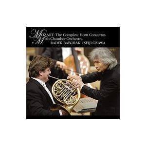 (おまけ付)モーツァルト:ホルン協奏曲全集 / 小澤 征爾 (CD)SICC-19002-SK softya2