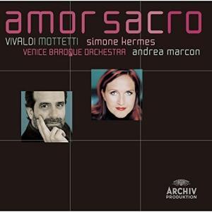 (おまけ付)アモール・サクロ(神聖なる愛)-ヴィヴァルディ:モテット集 / ジモーネ・ケルメス (CD) UCCA-5019-SK
