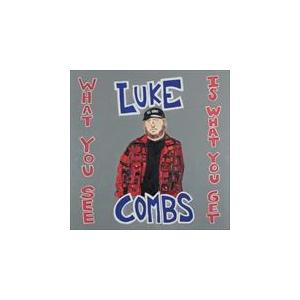(おまけ付)WHAT YOU SEE IS WHAT YOU GET / LUKE COMBS ルーク・コムズ(輸入盤) (CD) 0190759568729-JPT