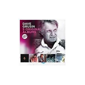 5 ORIGINAL ALBUMS (LTD) / DAVE GRUSIN デイヴ・グルーシン(輸入盤) (5CD) 0600753772997-JPT
