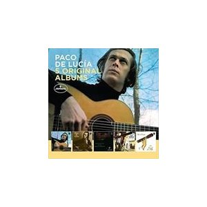 5 ORIGINAL ALBUMS (LTD) / PACO DE LUCIA パコ・デ・ルシア(輸入盤) (5CD) 0600753797907-JPT|softya