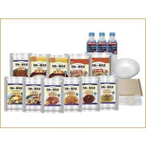 美味しい防災食スペシャルセット(1人×2日分) (保存水有) BS10-FL 防災 非常食 保存食|softya