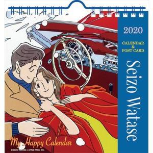2019年9月下旬発売予定! 卓上 わたせせいぞう 2020年カレンダー 20CL-0499|softya