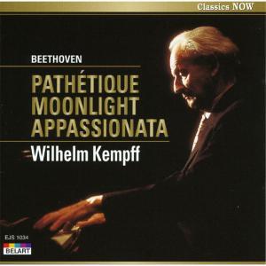 ケンプ| ベートーヴェン:3大ピアノ・ソナタ 悲愴/月光/熱情 (CD) EJS1034|softya