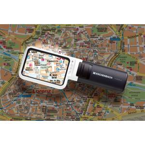 ESCHENBACHエッシェンバッハ LEDライト付角型ルーペ「LEDワイドライトルーペ」1511-3 softya
