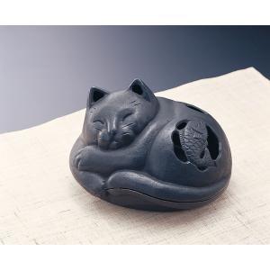 南部鉄器 岩鋳 蚊遣り「ネコ」 softya