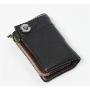 DEVICE(デバイス)ヴィンテージDKW-17058(二つ折れ財布)/ターコイズ(HY)|softya