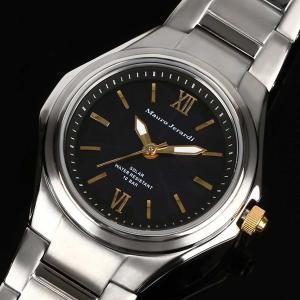 Mauro Jerardi マウロジェラルディ チタンソーラー メンズ腕時計/ ブラック MJ039-1 (HY)|softya