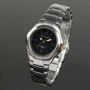 Mauro Jerardi マウロジェラルディ チタンソーラー レディース腕時計 /ブラック MJ040-1 (HY)|softya