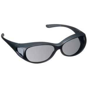 エロイコ 日本製オーバーサングラス OS-3 ブラック|softya