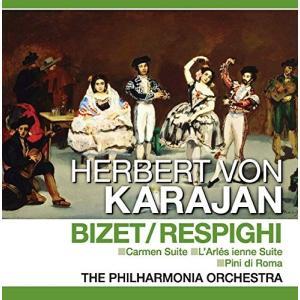 ビゼー / レスピーギ カルメン アルルの女 ローマの松 ヘルベルト・フォン・カラヤン 指揮 (CD)PCD-418-KEEP|softya