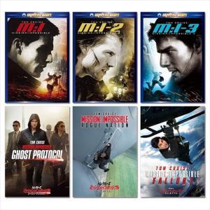 ミッション:インポッシブル シリーズ DVD6枚組