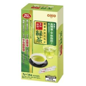 食事のおともに食物繊維入り緑茶 84g(6g×14包) 機能性表示食品 日清オイリオ【RH】 そうごう薬局 e-shop