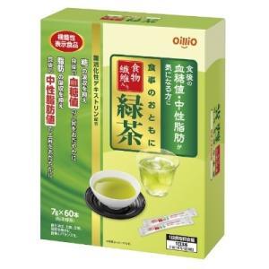 食事のおともに食物繊維入り緑茶 420g(7g×60包) 機能性表示食品 日清オイリオ【RH】 そうごう薬局 e-shop
