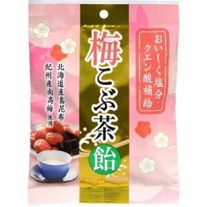 梅こぶ茶飴 72g うすき製薬 熱中症対策 塩飴【RH】