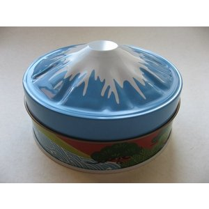 富士山パノラマ缶 煎茶(中蒸し)手摘み|sohno