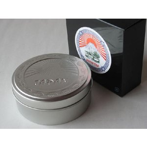 明治時代の輸出用ラベルを復刻して缶入にしました  煎茶(中蒸し)金印 を80gを入れました。  包装...