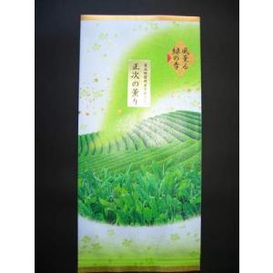 煎茶(中蒸し)正次の薫り|sohno
