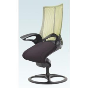 オフィスチェア オカムラ レオパード ミドルバック CE73BRブラックフレーム 座:布張り仕様(ブラック) 固定タイプ|soho-honpo