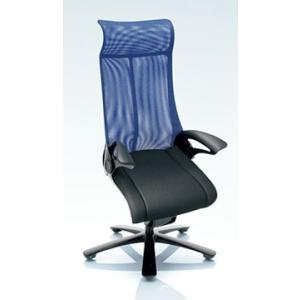 オフィスチェア オカムラ レオパード ハイバック CE93BSブラックフレーム 座:布張り仕様(ブラック) キャスター付き|soho-honpo