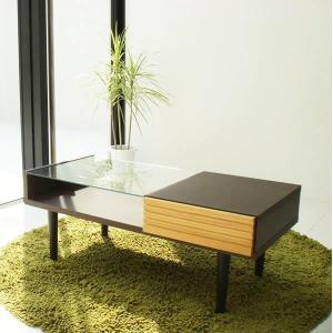 ガラス リビングテーブル FE|soho-st