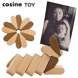 木のおもちゃ cosine(コサイン)バランスつみき ハート(6個セット) KI-17XM|soho-st