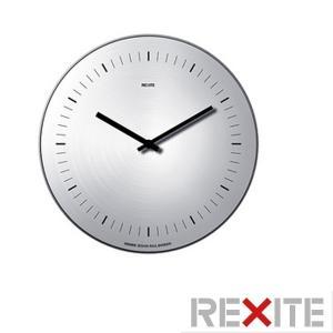 レキサイト 掛け時計 大判(ウォールクロック)ORARIO(オラリオ)/ステンレス(数字表示なし)|soho-st