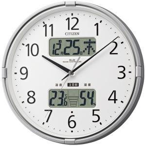 カレンダー・湿度計・温度計機能付/ CITIZEN 電波時計 インフォームナビF|soho-st