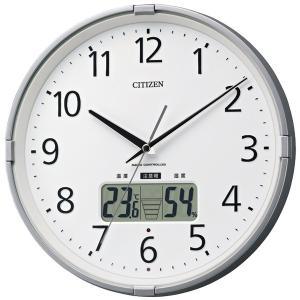 湿度計・温度計機能付/ CITIZEN 電波時計 インフォームナビS|soho-st
