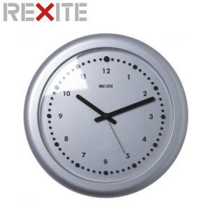 壁掛け時計 レキサイト ZERO アルミニウム|soho-st
