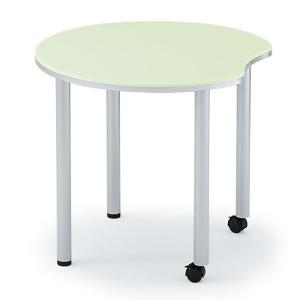 会議テーブル イトーキ BIO TABLE(バイオテーブル)3(アップル型)【自社便 開梱・設置付】|soho-st