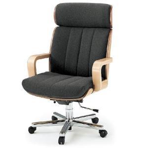 【オフィスチェア】 イトーキ  R-1(ハイバック/背裏突板貼りタイプ)布地張り|soho-st