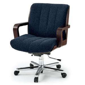 【オフィスチェア】 イトーキ R-1(ミドルバック/背裏突板貼りタイプ)布地張り|soho-st